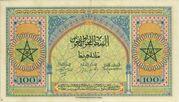 100 Francs 1943 - 1944 – revers