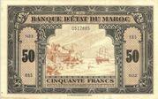 50 Francs  1943 - 1944 – avers