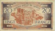 20 Francs 1943 – avers