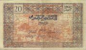 20 Francs 1943 – revers