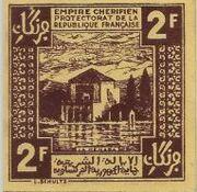 2 Francs 1944 – revers