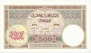 500 Francs 1923 1948 – revers