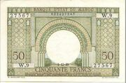 50 Francs 1949 – avers