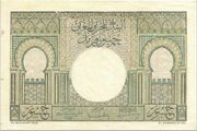 50 Francs 1949 – revers
