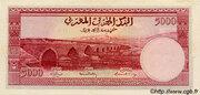 5 000 Francs – revers