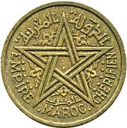 2 francs Mohammed V -  avers