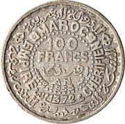100 francs Mohammed V -  revers