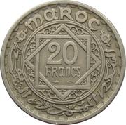 20 francs Mohammed V -  revers