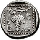 Drachm (Maroneia) – revers