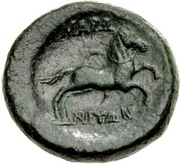 Bronze Æ22 (Maroneia) – revers