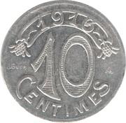 10 centimes - Chambre de Commerce - Marseille [13] – revers