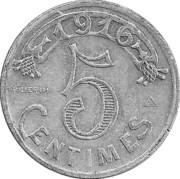 5 centimes - Chambre de Commerce - Marseille [13] – revers