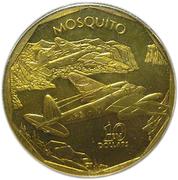 10 dollars (Mosquito) -  revers