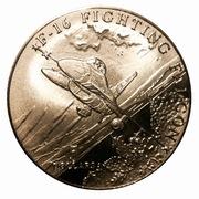 5 Dollar (F-16 Fighting Falcon) – revers