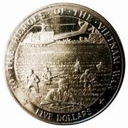 5 Dollars - Heroes of Vietnam War – revers