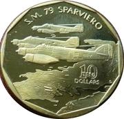 10 Dollars (S.M. 79 Sparviero) -  revers