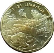 10 Dollars (B-24 Liberator) -  revers