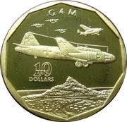 10 Dollars (G 4 M) -  revers