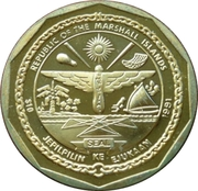 10 Dollars (A6M Reisen) -  avers