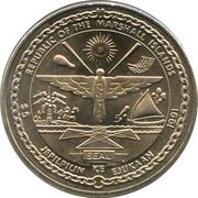 5 dollars (Columbia) – avers