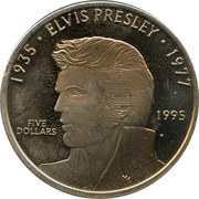 5 Dollars- Elvis Presley -  revers