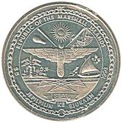 5 dollars  (bataille de l'Atlantique) – avers