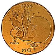 10 Dollars (Venus) -  revers