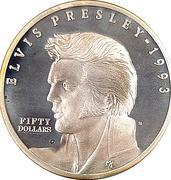 Elvis Presley Commemorative – revers