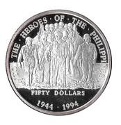 50 Dollars Heros of the Philippines – revers