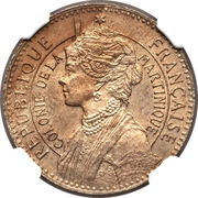 50 centimes (Piéfort avec Essai) – avers