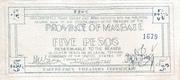 5 Pesos (Masbate) – avers