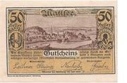 50 Heller (Mattsee) -  avers
