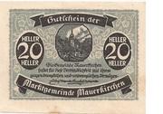 20 Heller (Mauerkirchen) -  avers