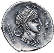 Denarius - Juba II (Caesarea) – revers