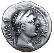 Denarius - Juba II (Caesarea) – avers