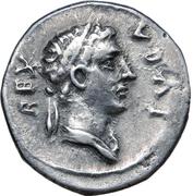 Denarius - Juba II and Ptolemy (Caesarea) – avers