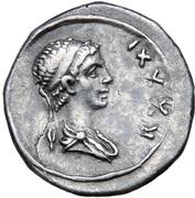 Denarius - Juba II and Ptolemy (Caesarea) – revers