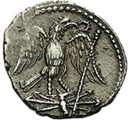 Denier - Juba II (Aigle) – revers