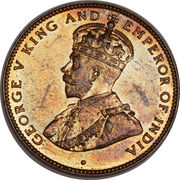 2 cents - George V – avers