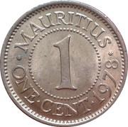 1 cent - Elizabeth II – revers
