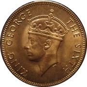 2 cents - George VI – avers