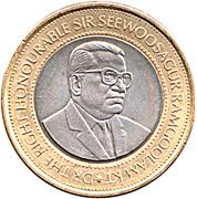 20 roupies Banque de l'Île Maurice -  avers