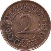 2 cents - George VI – revers