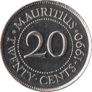20 cents -  revers