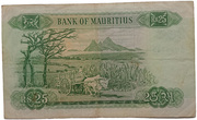 25 Rupees Type 1967 – revers