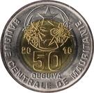50 ouguiya – avers