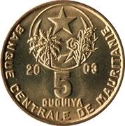 5 ouguiya -  avers
