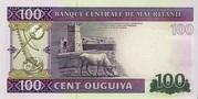 100 Ouguiya Type 2011 – revers
