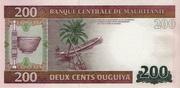 200 Ouguiya Type 2013 – revers