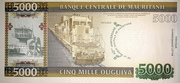 5000 Ouguiya (40th Anniversary of Banque Centrale de Mauritanie ) – revers